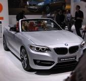 Mondial Automobile Paris 2014 - BMW Série 3 Cabriolet