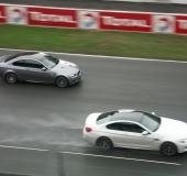 Circuit Le Mans Bugatti - Novembre 2012 - BMW M6 + M3