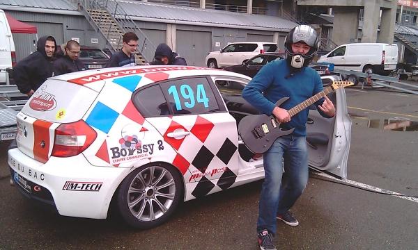 TontonGreg, une guitare, une 120d de course :-)