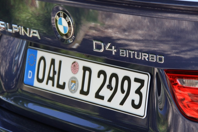BMW ALPINA D4 BITURBO