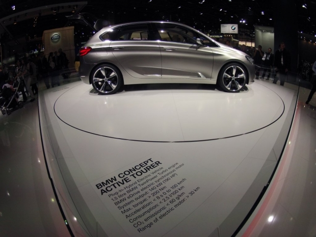 Mondial Auto Paris 2012 - BMW Concept Active Tourer