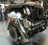 Mondial Auto Paris 2012 - BMW M5 - Moteur
