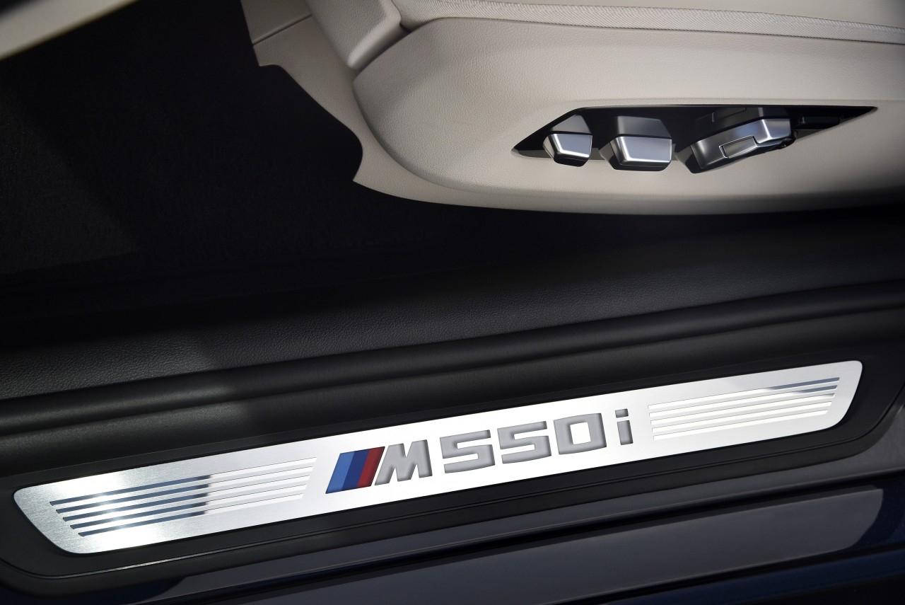 BMW M550i xDrive 2017