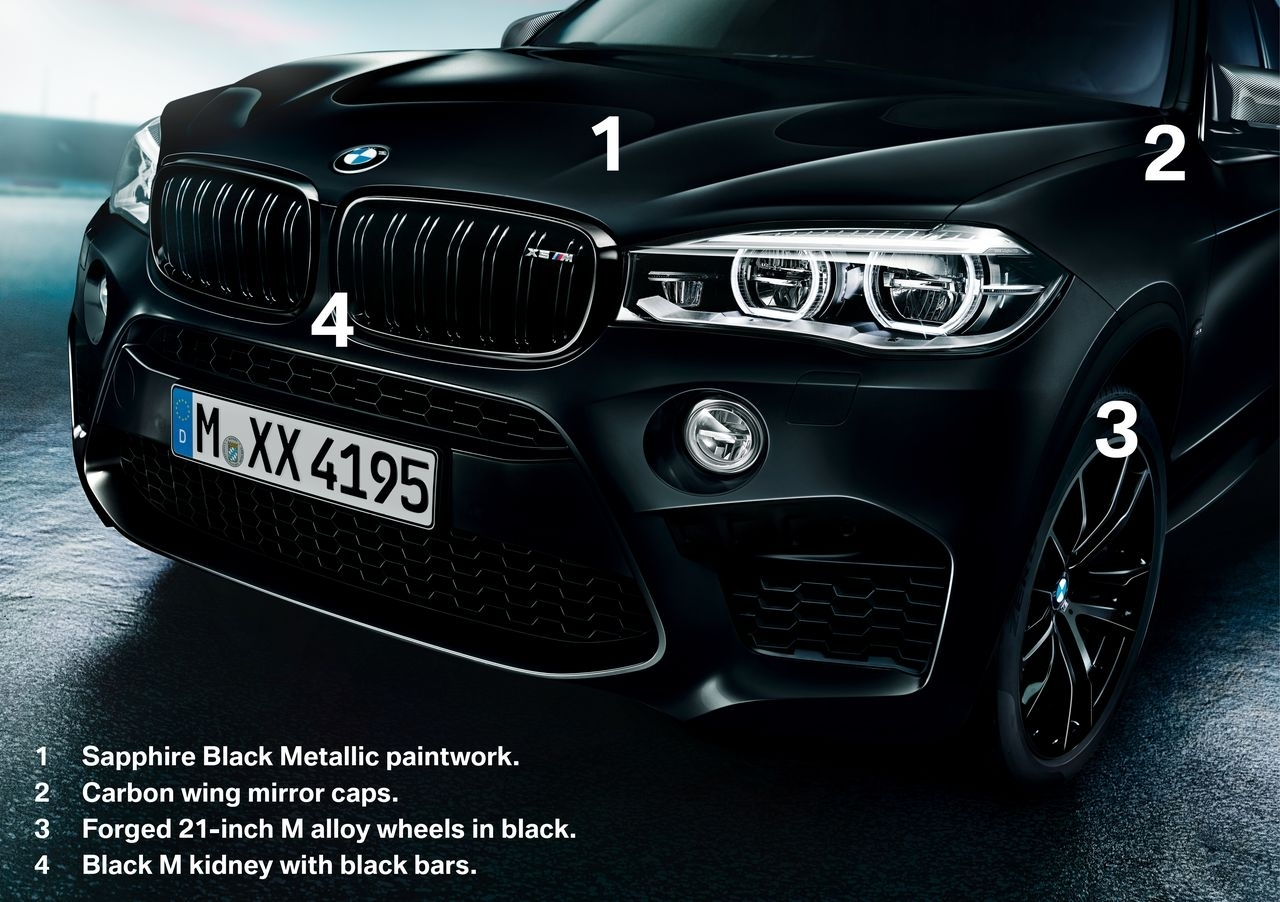BMW X5M et X6M Black Fire Edition - 11