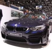 Mondial Automobile Paris 2014 - BMW M4 Cabriolet
