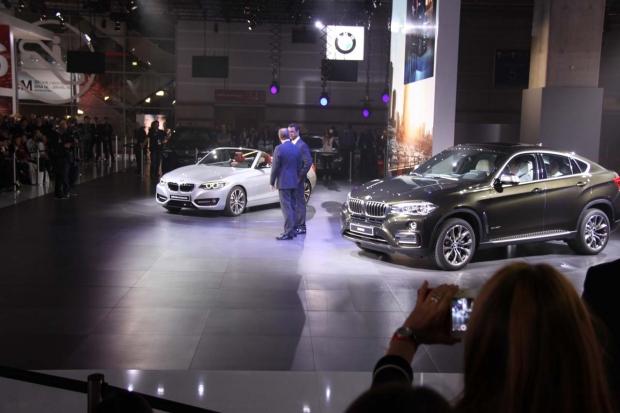 Mondial Automobile Paris 2014 - BMW Série 2 Cabriolet et X6