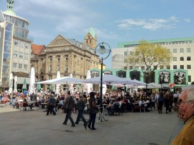 Place centrale Dortmund
