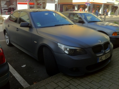 BMW E60 Frozen
