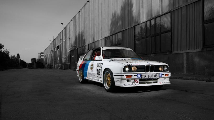 BMW M3 E30 en DTM: quelques minutes de course old school ...