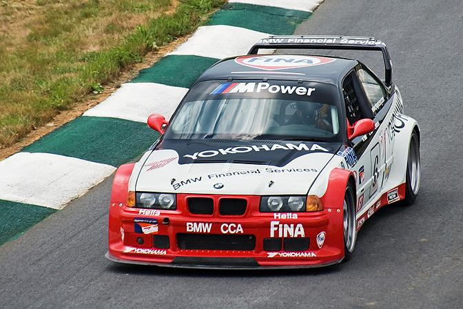 ALMS M3 E36 PTG racer 1997