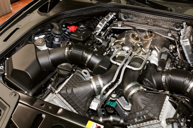 Quelques 233 L 233 Ments Techniques Du V8 Turbo De La Bmw M5 F10