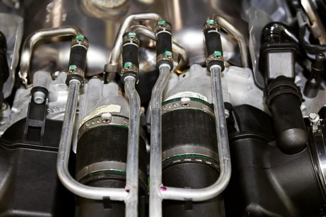 Circuit de refroidissement des turbos.