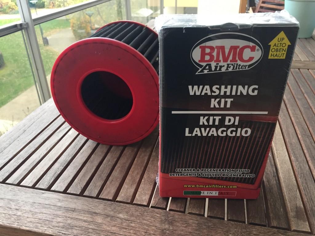 Kit nettoyage filtre à air BMC