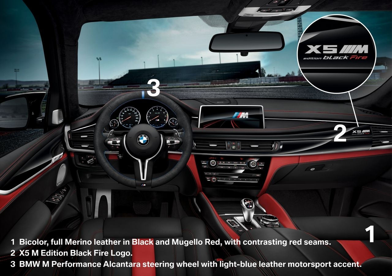 BMW X5M et X6M Black Fire Edition - 10